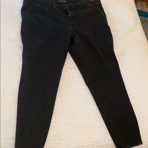Plus size black jeans - like new!